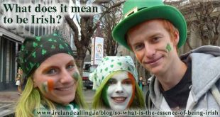 What does it mean to be Irish