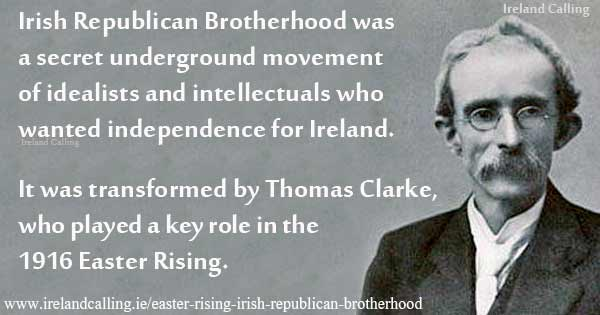 Thomas Clarke member of the Irish Republican Brotherhood. Image copyright Ireland calling