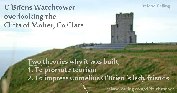 O-Brien,s watchtower Image copyright Ireland Calling