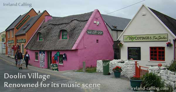 Doolin Village Ireland Image copyright Ireland Calling
