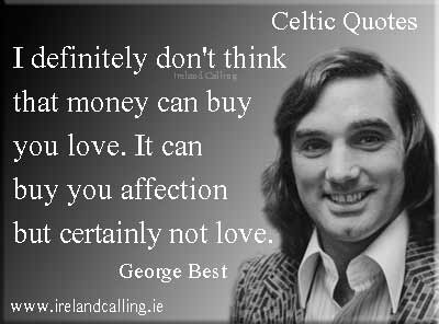 George Best quote. I definitely don' think money can buy you love. Photo copyright NL HaNA, ANEFO CC3