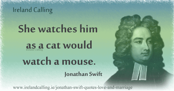 Cat And Mouse Quotes: Jonathan Swift Quotes On Love