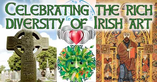 Irish Art - clues to ancient Irish cultures and beliefs