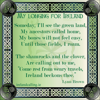My Longing for Ireland. Lynn Brown