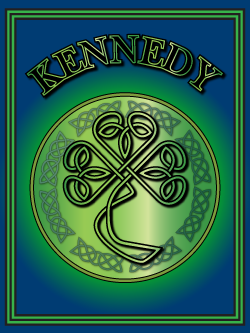 History of the Irish name Kennedy. Image copyright Ireland Calling