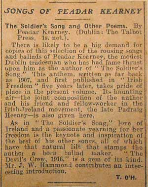 Dublin Independent 14 May 1928