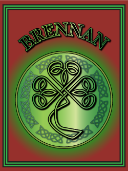 History of the Irish name Brennan. Image copyright Ireland Calling