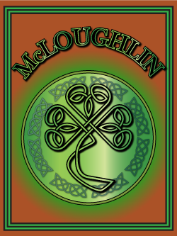 History of the Irish name McLoughlin. Image copyright Ireland Calling