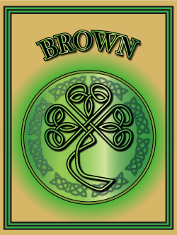 History of the Irish name Brown. Image copyright Ireland Calling