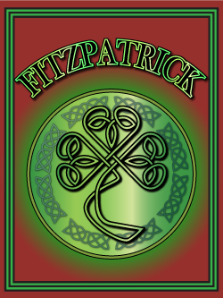 History of the Irish name Fitzpatrick. Image copyright Ireland Calling