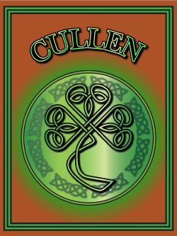 History of the Irish name Cullen. Image copyright Ireland Calling