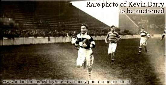 Rare Kevin Barry photo to be auctioned