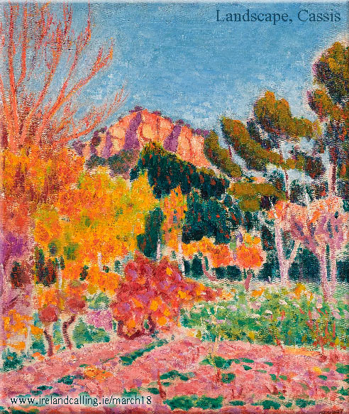 Landscape-Cassis by Roderic O'Conor