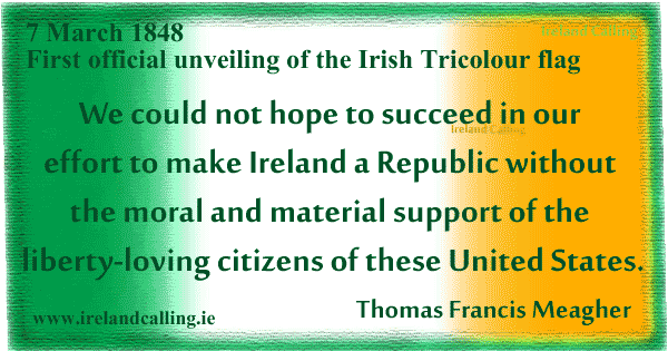 Thomas Francis Meagher quote image copyright Ireland Calling
