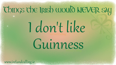 Top things the Irish would never say. Image copyright Ireland Calling