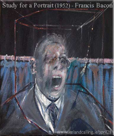 Francis Bacon Study for a Portrait