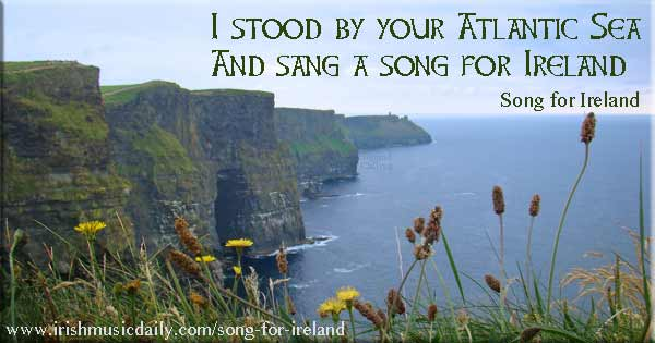 Song for Ireland. Image copyright Ireland Calling