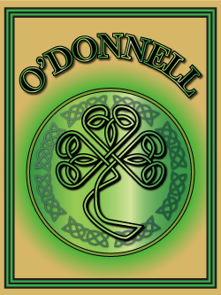 History of the Irish name O'Donnell. Image copyright Ireland Calling