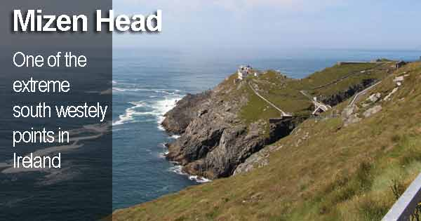 MIzen Head - One of the extreme south westely points in Ireland.Photo copyright Ent-ente cc3