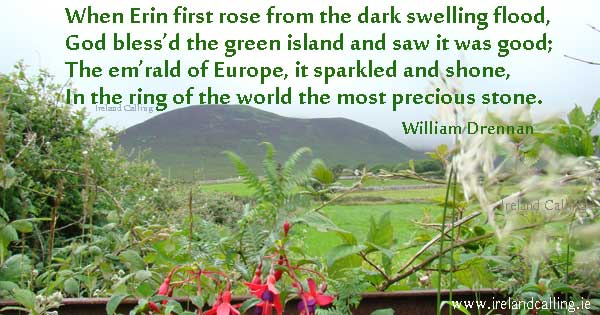 When Erin First Rose. Image copyright Ireland Calling