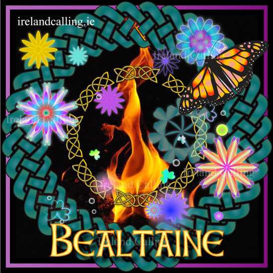 Beltane, ancient Celtic festival. Image copyright Ireland Calling