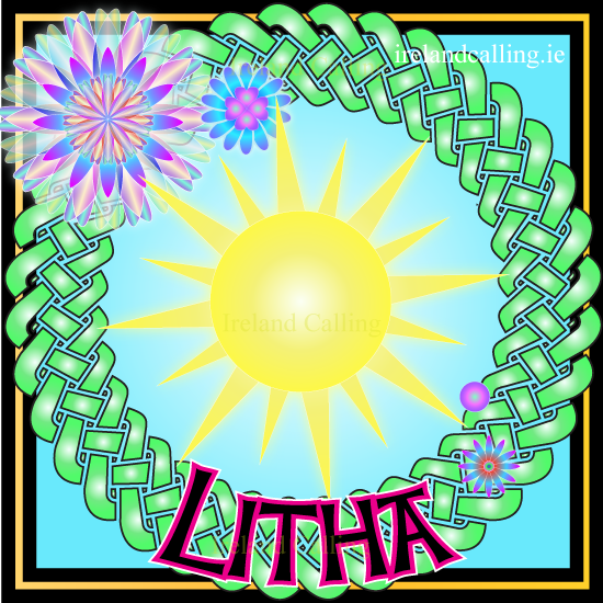 Litha, ancient Celtic festival. Image copyright Ireland Calling
