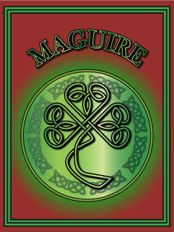 History of the Irish name Maguire. Image copyright Ireland Calling