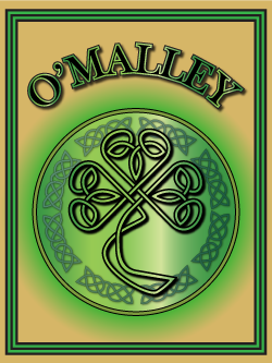 History of the Irish name O'Malley. Image copyright Ireland Calling