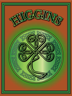 History of the Irish name Higgins. Image copyright Ireland Calling