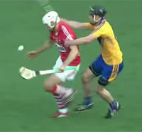 Clare take on Cork in the 2013 All-Ireland Hurling Final