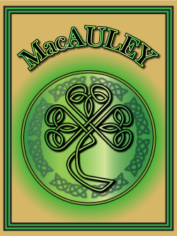 History of the Irish name MacAuley. Image copyright Ireland Calling