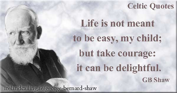 Top George Bernard Shaw quotes. Image copyright Ireland Calling