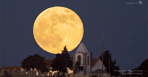 Supermoon Video Why Supermoon Is Special Ireland Calling