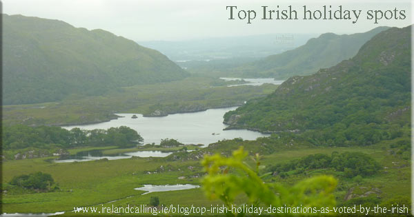 Top Irish holiday spots by the Irish