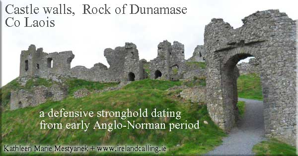 Rock of Dunamase. Photo copyright Marie Mestyanek