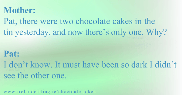 Molther-Pat,-there-were-two-chocolate-cakes-in-the Image copyright Ireland Calling