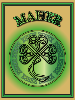 History of the Irish name Maher. Image copyright Ireland Calling
