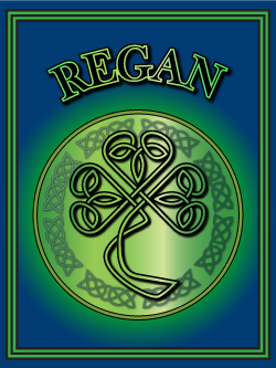 History of the Irish name Regan. Image copyright Ireland Calling