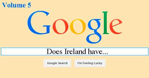 Popular Google searches about Ireland
