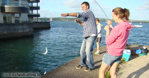 What you like about Ireland. Fishing in Youghal. Photo copyright Ireland Calling