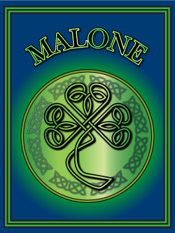 Irish name Malone. Image copyright Ireland Calling