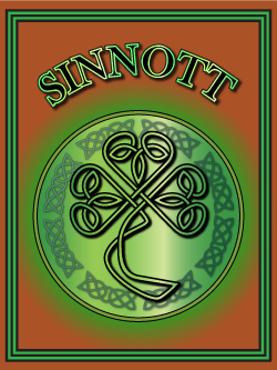 History of the Irish name Sinnott. Image copyright Ireland Calling