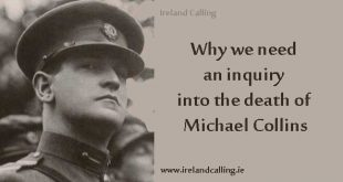 Michael Collins - why we need an investigation into his death
