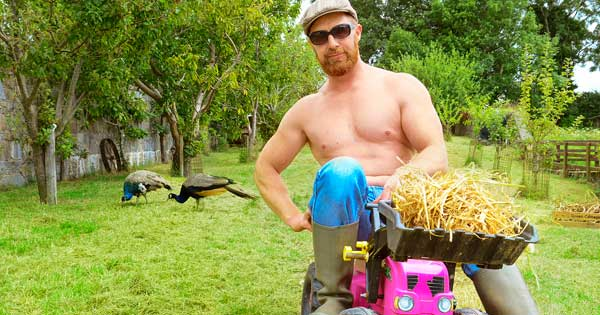 Slices of  Irish beef – the topless farmers calendar's back
