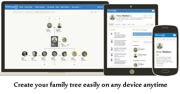 Create a family tree as a legacy to pass on to the next generation