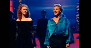 Jean Butler and Michael Flatley in Riverdance