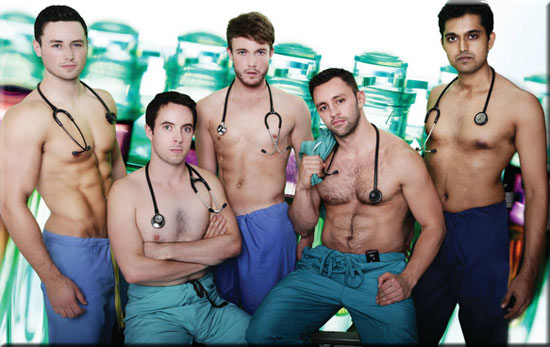 Irish doctors strip off for charity calendar