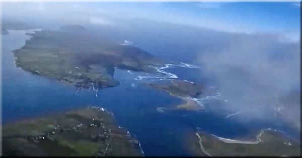 Mystical video of County Kerry sky filmed at 30km by weather balloon