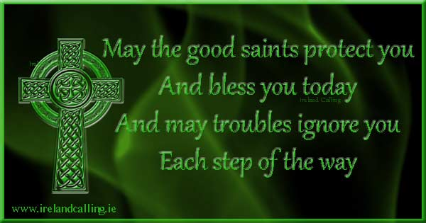 Irish wisdom. Image copyright Ireland Calling