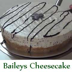 Baileys Ice Cream Cheesecake recipe